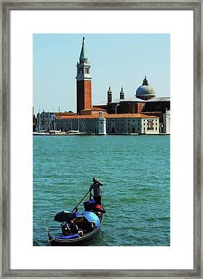 Venice Gandola Framed Print
