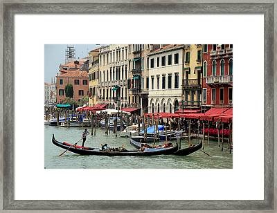 Venice Grand Canal 2 Framed Print by Andrew Fare