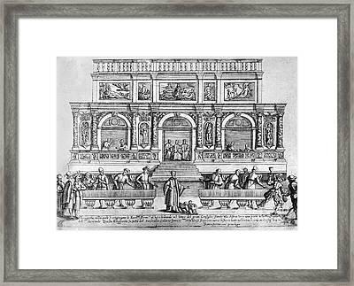 Venice: Loggetta Framed Print by Granger