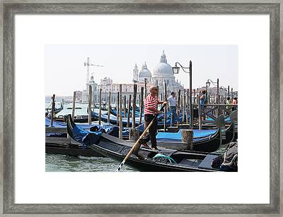 Venice Framed Print by Mary-Lee Sanders