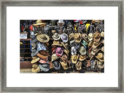 Venice Merchant I Framed Print by Chuck Kuhn