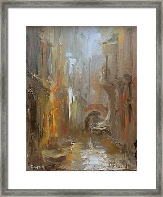 Venice Framed Print by Nelya Shenklyarska