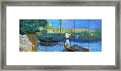 Venice Of The Middle East Framed Print by Unknown - Local Iraqi National