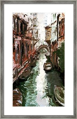 Venice Framed Print by Sophie Brunet