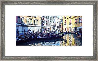 Venice Waiting  Framed Print