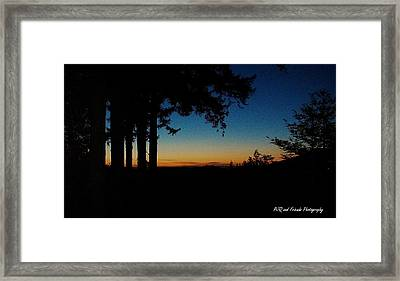 'ventana Sunset' Framed Print by PJQandFriends Photography