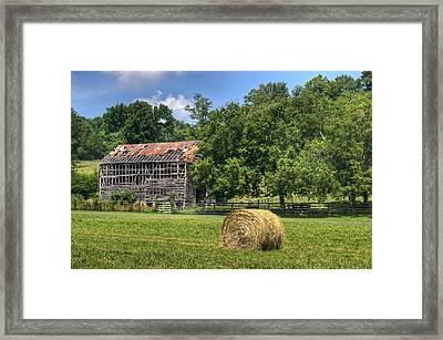 Ventilated Barn 3 Framed Print by Douglas Barnett
