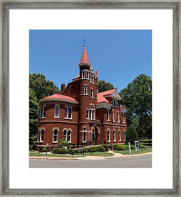Ventress Hall Ole Miss Framed Print