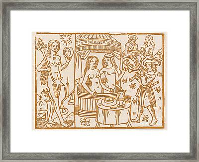 Venus, Roman Goddess Of Love Framed Print by Science Source