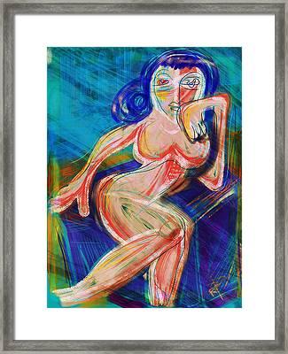 Venus Framed Print by Russell Pierce