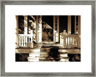 Veranda Framed Print by The Art of Marsha Charlebois