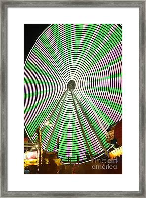 Verdego Framed Print by Lynda Dawson-Youngclaus