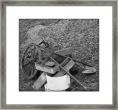 Verlassen Framed Print by Mariana Costa Weldon