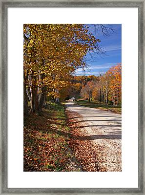 Vermont Sugar House Framed Print by Butch Lombardi
