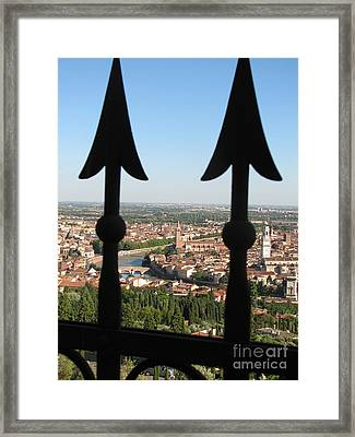 Verona- View Framed Print