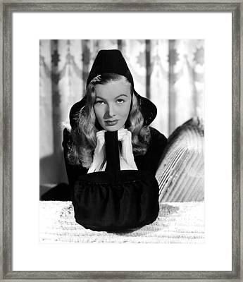 Veronica Lake, Paramount Pictures, 1941 Framed Print