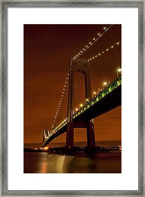 Verrazano-narrows Bridge02 Framed Print