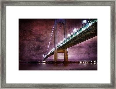 Verrazano-narrows Bridge03 Framed Print