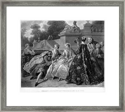 Versailles: Court Life Framed Print by Granger
