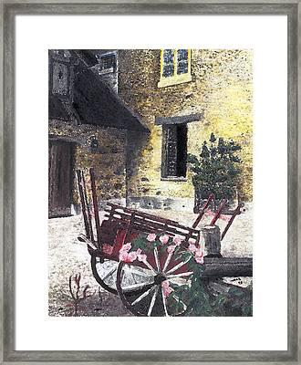 Versailles Peasant Village Framed Print by Inger Hutton