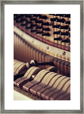 Vertical Piano Framed Print by Isabelle Lafrance Photography