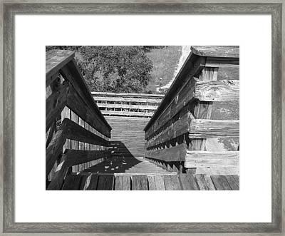 Vertigo Exit Framed Print
