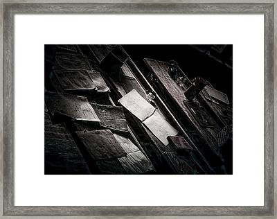 Vertigo Learning Framed Print by Empty Wall