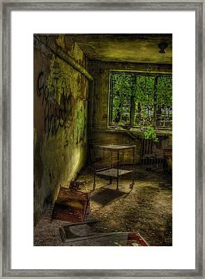 Vertigo Of Insanity  Framed Print by Heather  Boyd