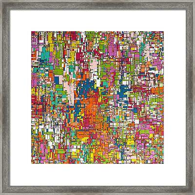 Verve Framed Print