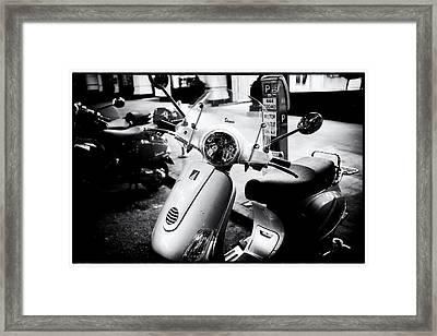 Vespa Framed Print by Tanya Harrison