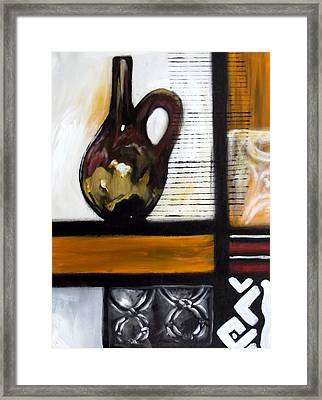 Vessel 1 Framed Print by Alonzo Butler