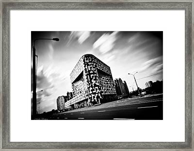 Vet Square Framed Print by Mark Britten
