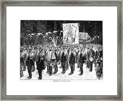 Veteran March, 1876 Framed Print