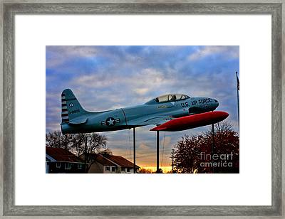 Vfw F-80 Shooting Star Framed Print by Tommy Anderson