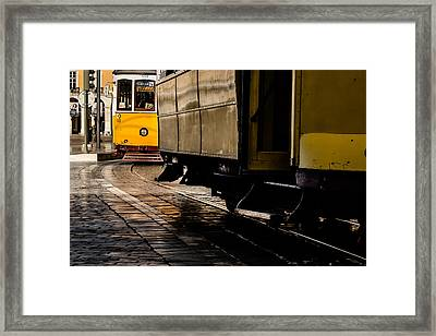 Via Castelo Framed Print