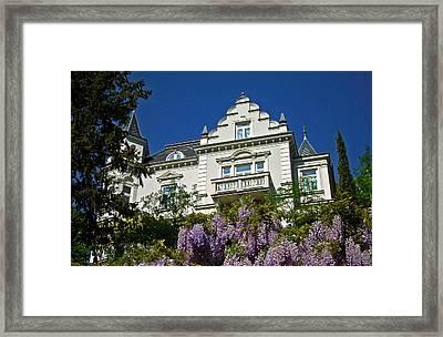 Via Giardini ... Framed Print
