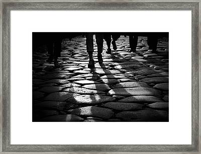 Via Sacra Framed Print by Fabrizio Troiani