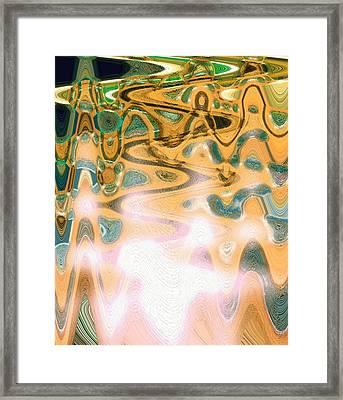 Vibrational Living Framed Print by Dagmar Batyahav