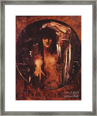 Victim Framed Print by Pg Reproductions