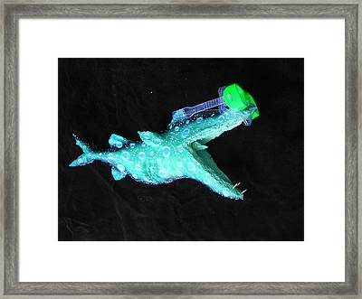 Victor The Viper Framed Print by Dan Townsend
