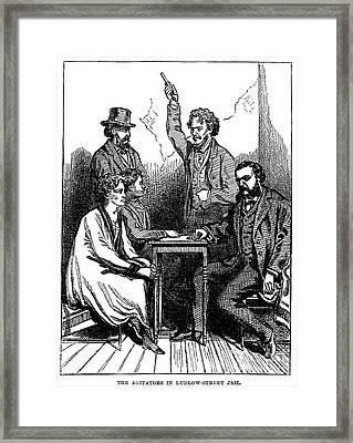 Victoria Claflin Woodhull Framed Print by Granger
