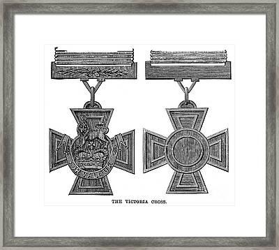 Victoria Cross, 1856 Framed Print by Granger