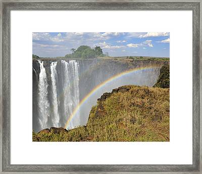 Victoria Falls Framed Print by Tony Beck