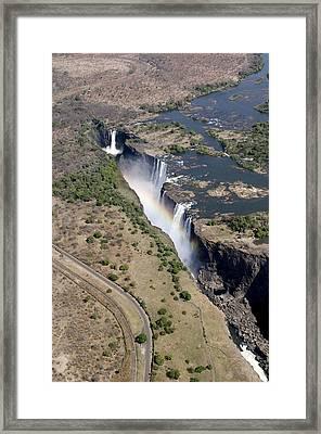 Victoria Falls Framed Print by Tony Camacho