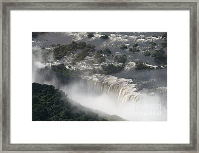 Victoria Falls Zambia Framed Print by Carol Wright