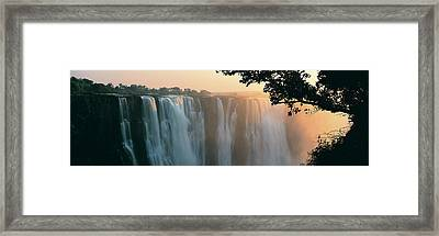 Victoria Falls, Zimbabwe, Africa Framed Print by Jeremy Woodhouse