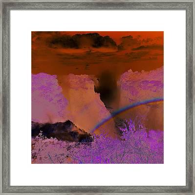 Victoria Falls, Zimbabwe Framed Print by Robert Harding
