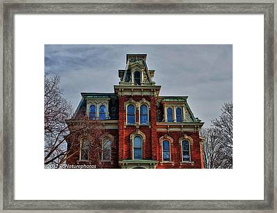 Framed Print featuring the photograph Victorian Beauty by Rachel Cohen