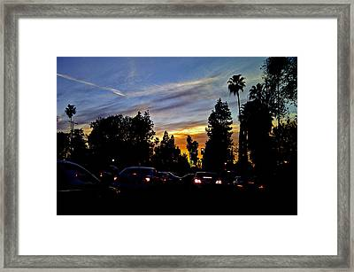Victory Blvd 4 Framed Print by Russell Jenkins