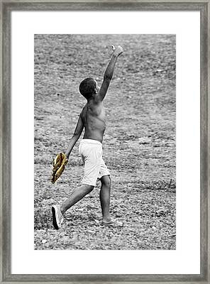 Victory Framed Print by Dexter Fassale